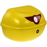 Rear Case for RACCEWAY SMART Electric Motorcycle, yellow-glossy - Suitcase