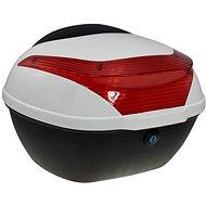 Rear Case for RACCEWAY E-BABETA Electric Motorcycle, White - Suitcase