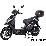 Racceway E-Fichtl, 12Ah, Black-Glossy - Electric scooter