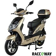 Racceway E-Fichtl, 12Ah, Light Gold-Glossy - Electric scooter