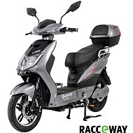 Racceway E-Fichtl, 20Ah, Grey-Glossy - Electric scooter