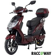 Racceway E-Fichtl, 12Ah, Burgundy-Glossy - Electric scooter