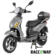Racceray E-Moped, 12Ah, Grey-Glossy