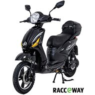 Racceray E-Moped, 20Ah, Black-Glossy - Electric scooter