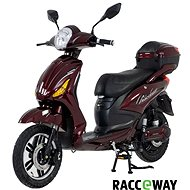 Racceray E-Moped, 12Ah, Burgundy-Glossy