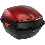 Zadní kufr k elektrickému motocyklu Racceway CITY 21, červený - Kufr