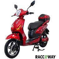 Racceway E-Moped 12AH červený-lesklý  - Elektroskútr