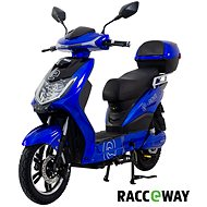 Racceway E-Fichtl 12AH modrý-lesklý  - Elektroskútr