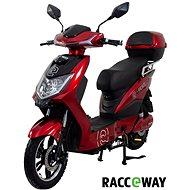 Racceway E-Fichtl 12AH červený-lesklý  - Elektroskútr