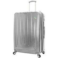 Mia Toro M1324/3-XL - stříbrná - Cestovní kufr