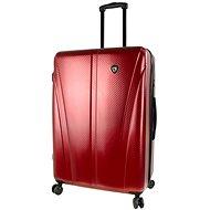 Mia Toro M1238/3-L - vínová - Cestovní kufr s TSA zámkem