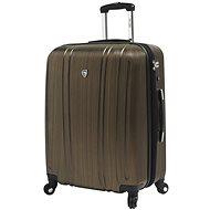 Mia Toro M1093/3-M - zlatá - Cestovní kufr s TSA zámkem