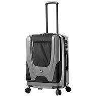 Cestovní kufr MIA TORO M1325/3-M - stříbrná