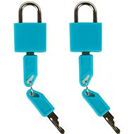 Rock 2ks TA-0009 - modrá - Zámek na zavazadla