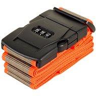 Rock TA-0012 - šedá/oranžová - Popruh na kufr