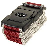 Rock TA-0012 - vínová/šedá - Popruh na kufr
