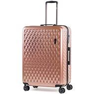 ROCK Allure TR-0192/3-L, růžová - Cestovní kufr s TSA zámkem