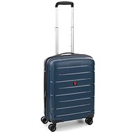 Roncato Flight DLX 55 EXP Blue - Suitcase with TSA-Approved Lock