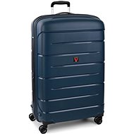 Roncato Flight DLX 79 EXP modrá - Cestovní kufr s TSA zámkem
