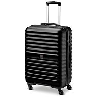 Modo by Roncato kufr VENUS 66 cm, 4 kolečka, černá - Cestovní kufr s TSA zámkem