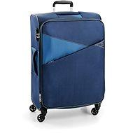 Roncato kufr THUNDER 77 cm, 4 kolečka, EXP., modrá - Cestovní kufr s TSA zámkem
