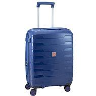 Roncato cestovní kufr SPIRIT, 55 cm, EXP.,4 kolečka, modrá - Cestovní kufr s TSA zámkem