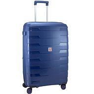 Roncato cestovní kufr SPIRIT, 79 cm, EXP., 4 kolečka,  modrá - Cestovní kufr s TSA zámkem
