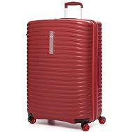 Modo by Roncato Vega 78 cm, 4 kolečka, EXP., červená - Cestovní kufr s TSA zámkem