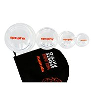 Spophy Cupping Set, set of silicone flasks - Massage Cups