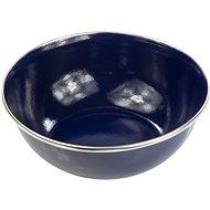 Regatta Enamel Bowl Blue - Kempingové nádobí