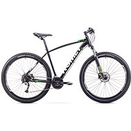 ROMET RAMBLER 29 3 Black - Light Green - Horské kolo 29""