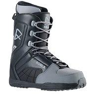 Robla Smooth Black/Grey - Snowboard boots