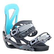 Robla D.I.Y. Gray/Blue vel. L - Vázání na snowboard