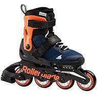 Rollerblade Microblade blue/orange - Kolečkové brusle