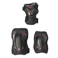 Chrániče Rollerblade Skate Gear Junior 3 Pack black/red