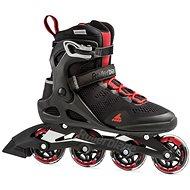 Rollerblade MACROBLADE 80 Black/Red - Roller Skates
