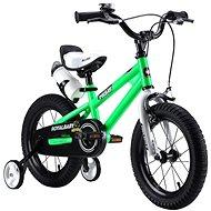 """RoyalBaby FREESTYLE 14"""" zelená - Dětské kolo"""