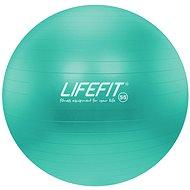 Lifefit anti-burst 55 cm, tyrkysový - Gymnastický míč
