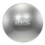 Lifefit anti-burst stříbrný - Gymnastický míč