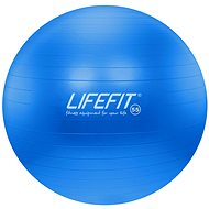 Lifefit anti-burst 55 cm, modrý - Gymnastický míč