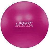 Lifefit anti-burst 55 cm, bordó - Gymnastický míč