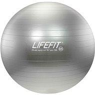 Lifefit anti-burst 65 cm, stříbrný - Gymnastický míč