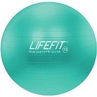 Lifefit anti-burst 75 cm, tyrkysový - Gymnastický míč