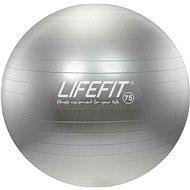 Lifefit anti-burst 75 cm, stříbrný - Gymnastický míč