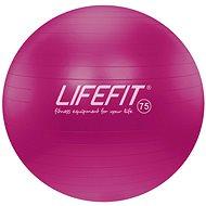 Lifefit anti-burst 75 cm, bordó - Gymnastický míč