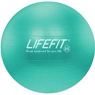 Lifefit anti-burst 85 cm, tyrkysový - Gymnastický míč