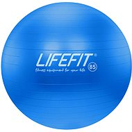Lifefit anti-burst 85 cm, modrý - Gymnastický míč