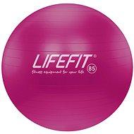 LIFEFIT anti-burst 85 cm, bordó - Gymnastický míč