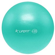 Lifefit overball 20cm, tyrkysový - Gymnastický míč