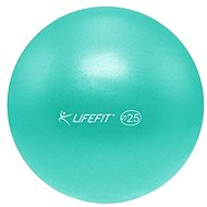 Lifefit overball 25cm, tyrkysový - Gymnastický míč